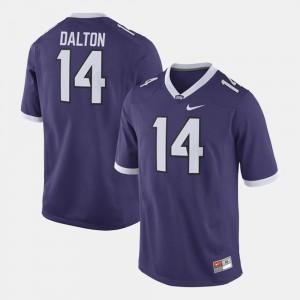 Mens Alumni Football Game Andy Dalton TCU Jersey Purple #14 533165-799