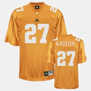 Youth College Football #27 Orange Arian Foster UT Jersey 559912-562