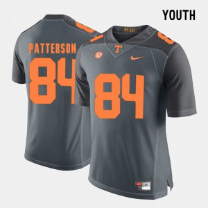 For Kids Cordarrelle Patterson UT Jersey #84 Grey College Football 198881-382