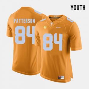 College Football Orange Cordarrelle Patterson UT Jersey #84 For Kids 808929-522