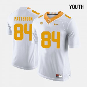 College Football Cordarrelle Patterson UT Jersey White Youth #84 171579-900