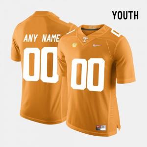 Orange College Limited Football UT Customized Jerseys Youth #00 395840-912