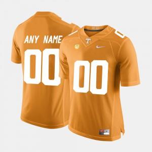 UT Custom Jerseys #00 College Limited Football Orange Men 561487-916