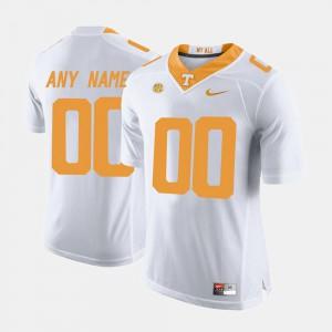College Limited Football White UT Custom Jerseys Men's #00 699272-638