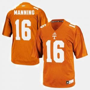 Youth(Kids) #16 College Football Peyton Manning UT Jersey Orange 820729-203