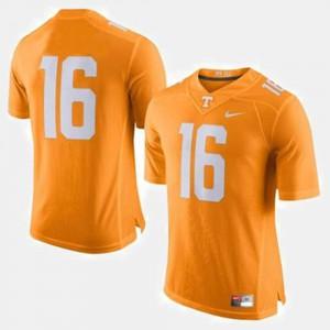 Orange #16 College Football For Men Peyton Manning UT Jersey 294544-456