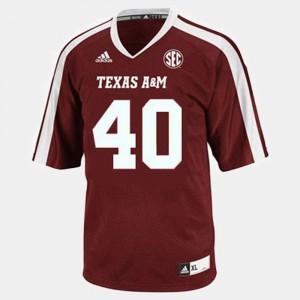 Von Miller Texas A&M Jersey #40 Kids College Football Red 657845-208