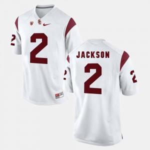 Pac-12 Game #2 Men's White Adoree' Jackson USC Jersey 494409-180