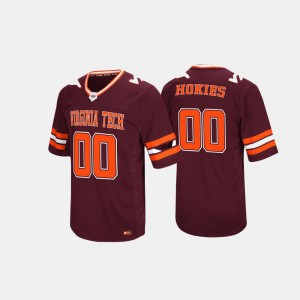 Virginia Tech Jersey Hail Mary II Maroon Men's #0 739468-657