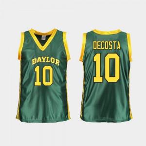 Women College Basketball Green Aquira DeCosta Baylor Jersey #10 Replica 503071-672