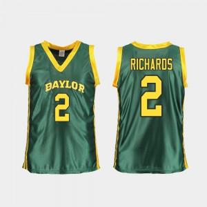 Green Replica DiDi Richards Baylor Jersey Ladies College Basketball #2 405201-403