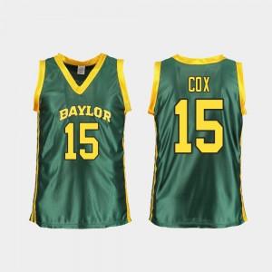 #15 Green Replica Womens Lauren Cox Baylor Jersey College Basketball 101230-432