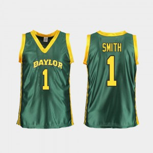 NaLyssa Smith Baylor Jersey Women Replica #1 College Basketball Green 601405-180