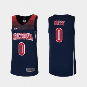 #0 Josh Green Arizona Jersey Navy Replica College Basketball Kids 830858-397