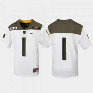 1st Cavalry Division Limited Edition Replica White Army Jersey Kids #1 503261-760