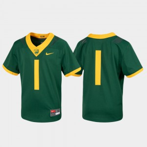 For Kids Baylor Jersey Untouchable #1 Green Football 203395-830