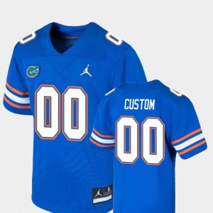 For Kids College Football #00 Royal Game Gators Customized Jersey 537244-610