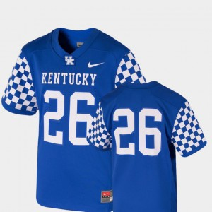 Royal UK Jersey College Football Team Replica #26 For Kids 258500-517