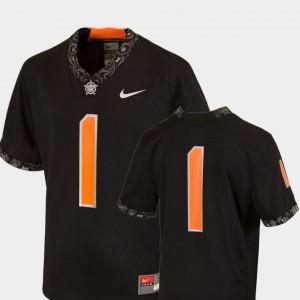 Black College Football Team Replica For Kids Oklahoma State Jersey #1 957429-550
