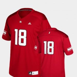 Kids College Football Replica #18 Scarlet Rutgers Jersey 925792-869
