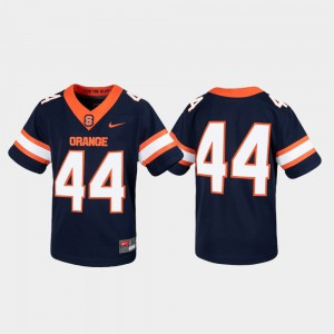 #44 Untouchable Syracuse Jersey For Kids Navy Game 361364-669