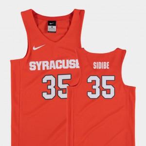 College Basketball #35 Kids Replica Orange Bourama Sidibe Syracuse Jersey 175394-190