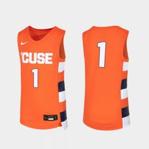 Syracuse Jersey Orange Youth Basketball Replica #1 727454-989