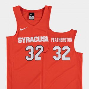 Orange Youth College Basketball Replica #32 Ray Featherston Syracuse Jersey 156904-431