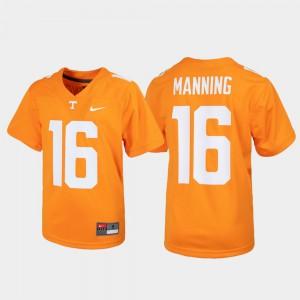 Tennessee Orange Alumni Football Game Peyton Manning UT Jersey #16 Youth(Kids) 448208-540