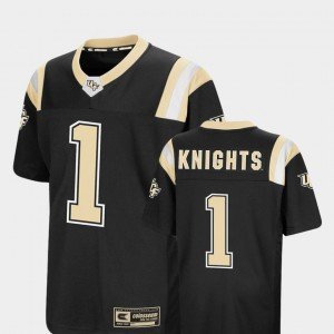 UCF Jersey #1 Foos-Ball Football Colosseum Youth Black 235250-580
